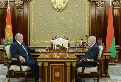 Встреча Президента Республики Беларусь Александра Лукашенко с Госсекретарем Союзного государства Григорием Рапотой