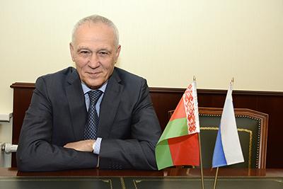 Поздравление Государственного секретаря Г.А.Рапоты по случаю 15-летия Союзного государства